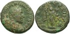 Ancient Coins - Philip I. A.D. 244-249. Æ as. Rome. Fine, brown patina, scratch on obverse.