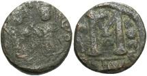World Coins - Arab-Byzantine. Æ fals. Fair/Fine.