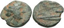 Ancient Coins - Phoenicia, Arados. 2nd-1st centuries B.C. Æ. Fine, green patina.