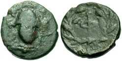 Ancient Coins - Phokis, Federal Coinage. Ca. 371-357 B.C. Æ 12 mm. Fine.