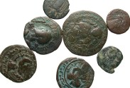 Ancient Coins - [Islamic]. Lot of seven Æ.