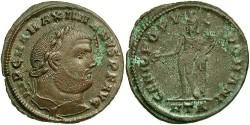 Ancient Coins - Maximianus. A.D. 286-305/08/10. Æ follis. Heraclea, ca. A.D. 297-298. VF, minor encrustation.