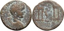Ancient Coins - Phoenicia, Berytus. Elagabalus. A.D. 218-222. Æ. Fine, brown surfaces.