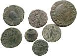 Ancient Coins - [Roman Imperial]. Lot of seven late Roman Æ.