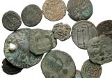 Ancient Coins - [Islamic and Medieval]. Lot of fourteen Æ.