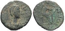 Ancient Coins - Aelia Flaccilla. Augusta, A.D. 379-386/8. Æ. Fine.