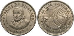 World Coins - Nicaragua. 1939. 10 centavos. Choice BU.