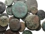 Ancient Coins - [Greek and Roman Provincial]. Lot of twenty-five Æ.