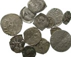 Ancient Coins - [Medieval & Early Modern] Lot of thirteen miscellaneous AR and BI. Average Fair to Fine or a little better.