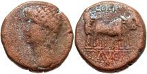 Ancient Coins - Phoenicia, Berytus. Claudius. A.D. 41-54. Æ. Near VF, brown surfaces.