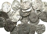 Ancient Coins - [Indian]. Lot of thirty Pre-Mauryan punchmarked AR from the Middle Ganges region.