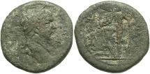 Ancient Coins - Phoenicia, Berytus. Trajan. A.D. 98-117. Æ. Fine, olive-green patina.