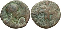 Ancient Coins - Phoenicia, Tyre. Severus Alexander. As Caesar, A.D. 222. Æ. Near Fine, brown patina. Scarce as Caesar issue.