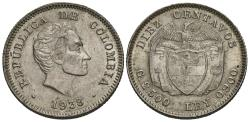 World Coins - Colombia. 1938. 10 centavos. Unc.