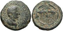 Ancient Coins - Phoenicia, Berytus. Hadrian. A.D. 117-138. Æ. Fine, earthen green patina.