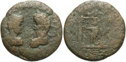 Ancient Coins - Phoenicia, Berytus. Septimius Severus, with Caracalla. A.D. 193-211. Æ. Fine, brown patina.