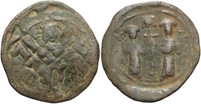 Coins: Ancient Faithful Byzantine Empire Maurice Tiberius Follis Constantinople Ae 30 Nice Coin Coins & Paper Money