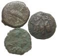 Ancient Coins - [Judaean]. Lot of three Æ pruthot.
