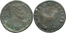Ancient Coins - Julian II. A.D. 360-363. Æ maiorina. Antioch. Fine/Fair, brown patina.
