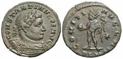Ancient Coins - Constantine I. A.D. 307/10-337. ' follis. London, A.D. 310-312. Good VF, brown patina.