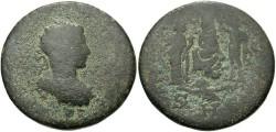 Ancient Coins - Syria, Seleucis and Pieria. Antiochia ad Orontem. Severus Alexander. A.D. 222-235. Æ 8 assaria. Near Fine, green patina.