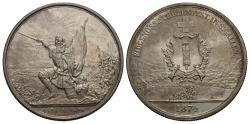 World Coins - Swiss Cantons, St. Gallen (canton). 1874. 5 francs shooting thaler. AU.