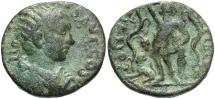 Ancient Coins - Phoenicia, Berytus. Gordian III. A.D. 238-244. Æ. VF, green patina. Nice type.