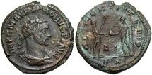Ancient Coins - Probus. A.D. 276-282. Æ antoninianus. VF, brown patina, rough.