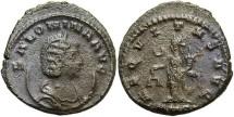 Ancient Coins - Salonina. Augusta, A.D. 254-268. BI double denarius. Antioch. VF, darkly toned, a little rough.