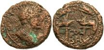 Ancient Coins - Phoenicia, Berytus. Hadrian. A.D. 117-138. Æ. Near VF, porous brown surfaces.