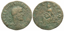Ancient Coins - Syria, Commagene. Samosata. Philip I. A.D. 244-249. Æ. Fine, brown surfaces.