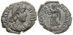 Ancient Coins - Valens. A.D. 364-378. '. Aquileia, A.D. 367-375. EF, nice brown patina.