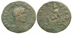 Ancient Coins - Syria, Commagene. Samosata. Philip I. A.D. 244-249. Æ. Fine, brown surfaces.