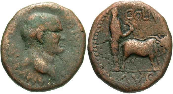 Ancient Coins - Phoenicia, Berytus. Vespasian. A.D. 69-79. Æ. Good Fine, brown patina.