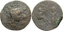 Ancient Coins - Mesopotamia, Edessa. Gordian III. A.D. 238-244. Æ 32 mm. A.D. 242-244. Fine, rough brown surfaces.