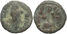 World Coins - Arab-Byzantine. Æ fals. Near Fine, brown patina.