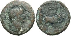 Ancient Coins - Phoenicia, Berytus. Trajan. A.D. 98-117. Æ. Good Fine, green-brown patina.