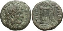 Ancient Coins - Phoenicia, Koinon. Pseudo-autonomous issue. 3rd century A.D. Æ. Fine, rough brown surfaces.