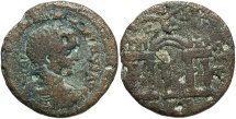 Ancient Coins - Phoenicia, Berytus. Elagabalus. A.D. 218-222. Æ. Fine, brown patina.