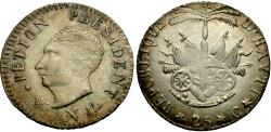 World Coins - Haiti. An 14 (1817). 25 centimes. EF.