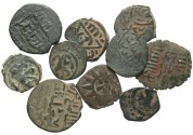 Ancient Coins - [Islamic]. Lot of ten Æ.
