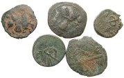 Ancient Coins - [Islamic]. Lot of five Æ.