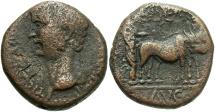 Ancient Coins - Phoenicia, Berytus. Claudius. A.D. 41-54. Æ. Near VF, brown patina.