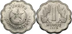 World Coins - Turkey. 1939. 1 kurush. Unc.