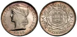 World Coins - Portugal. 1915. 10 centavos. Gem BU, wonderful strong luster.