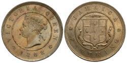 World Coins - Jamaica. Victoria. 1888. 1 farthing. Choice BU.