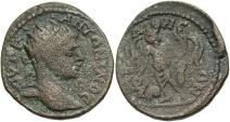 Ancient Coins - Syria, Seleucis and Pieria. Raphanea. Elagabalus. A.D. 218-222. Æ. Fine, brown patina. Very rare mint.