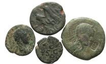 Ancient Coins - [Roman Provincial]. Lot of four Æ.