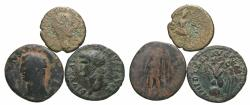 Ancient Coins - [Roman Imperial]. Lot of three '. Fair-Fine.
