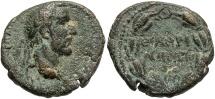 Ancient Coins - Syria, Cyrrhestica. Hieropolis. Antoninus Pius. A.D. 138-161. Æ. Near VF, brown patina with earthen highlights.